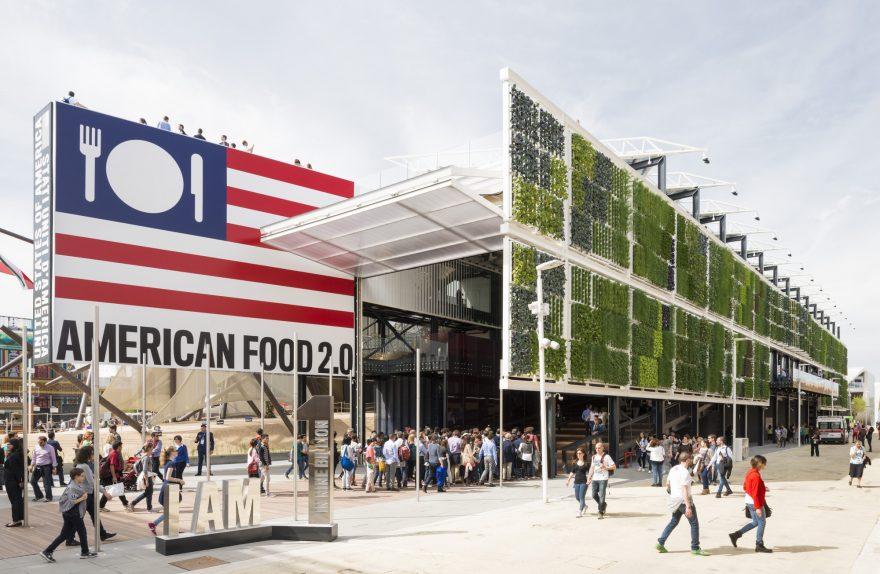 Pavilion États-Unis Milan Expo 2015