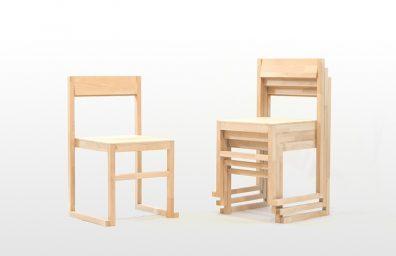 RJR στοιβαζόμενα καρέκλα, το σχεδιασμό από τον Mario Alessiani