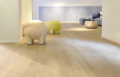 wooden floors Biscuit, Patricia Urquiola for Listone Giordano