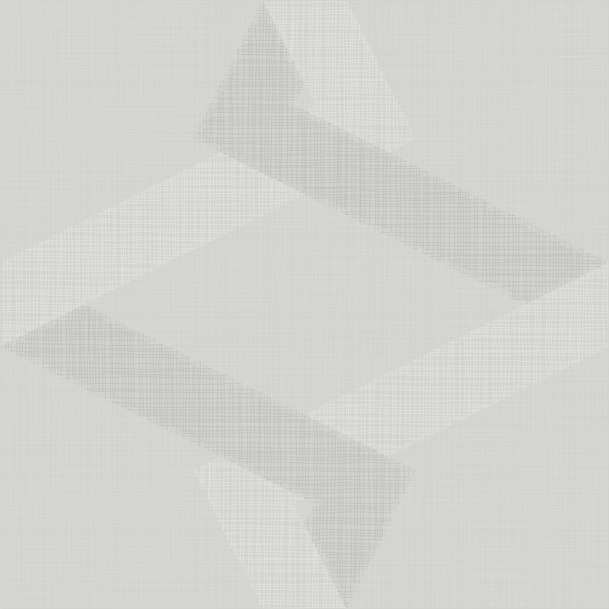 Refin Λαβύρινθος Mirror Ασημένια κεραμικά πλακίδια