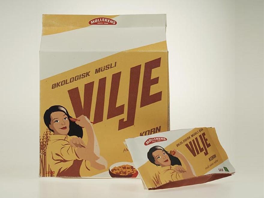 σχεδιασμού συσκευασίας Vilje μούσλι 03
