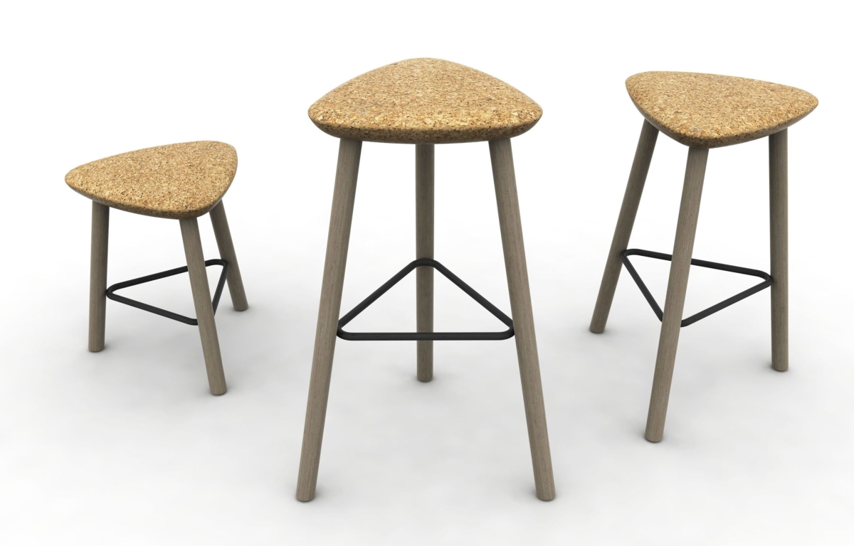 Pick Domitalia stool, sitting in Cork