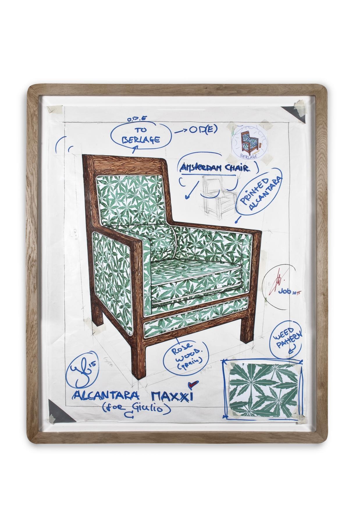 Local Icons. Progetto Alcantara-MAXXI Job Amsterdam Chair