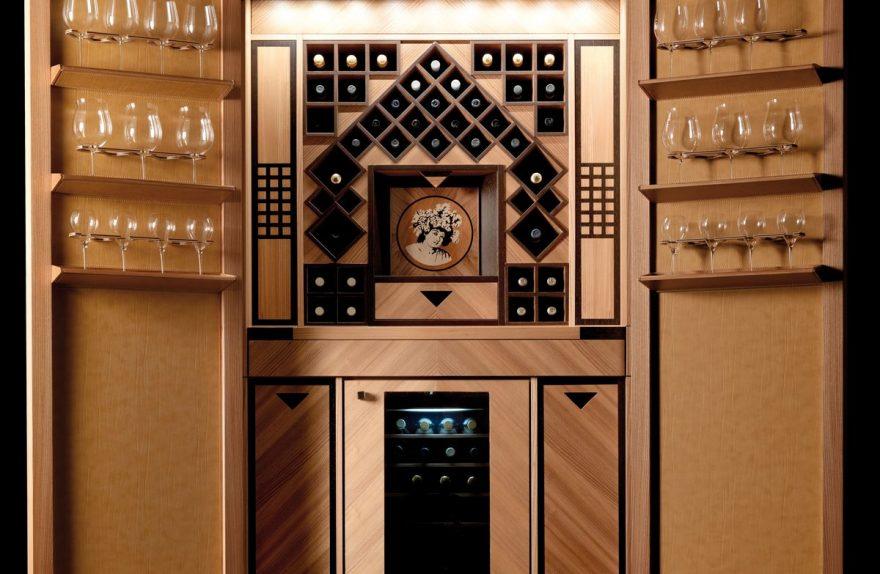 Toncelli Wine Column Milan open