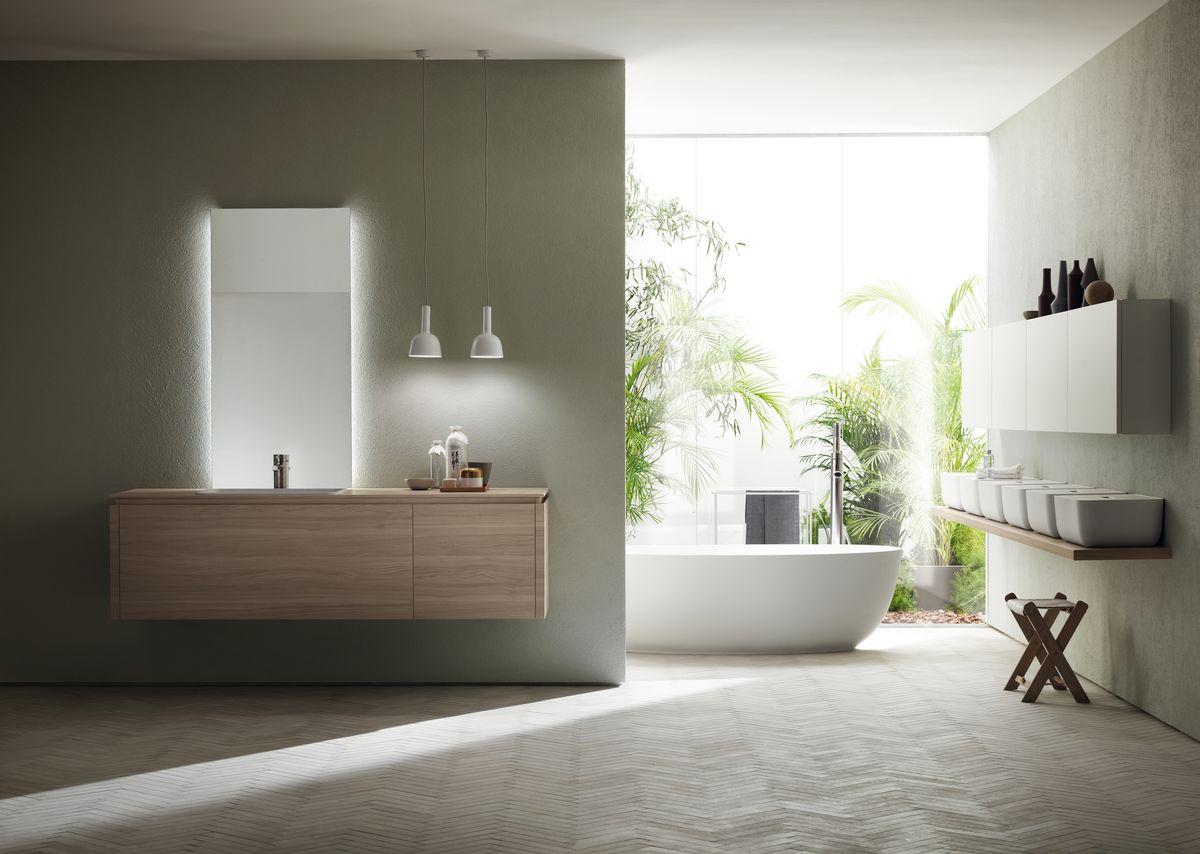 Scavolini Bathrooms Ki collection, design Nendo