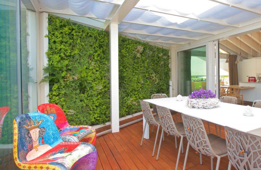 Sundar Italien Privathaus vertikalen Gartenterrasse