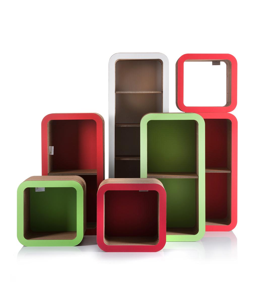 sistema in cartone riciclabile Moretto