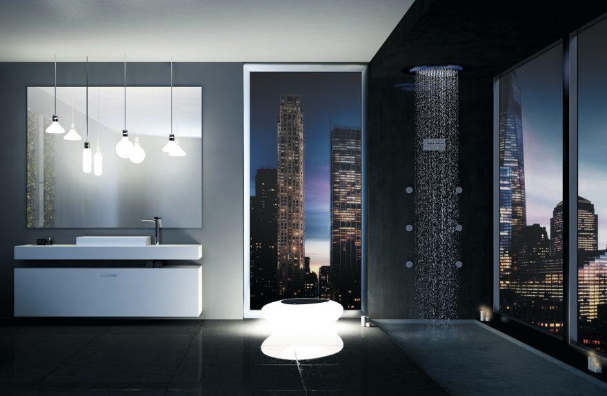 Konfigurieren von Synergy Dusche mit Multifunktionsdusche Decken