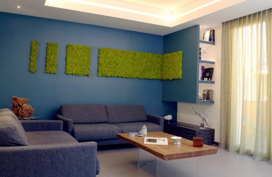 Haus auf zwei Ebenen, Interior Design Arch. Arnone