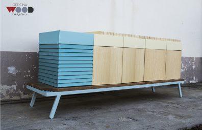Holzwerkstatt, Schrank Hellomare