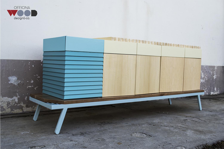 Wood Workshop, cupboard Hellomare