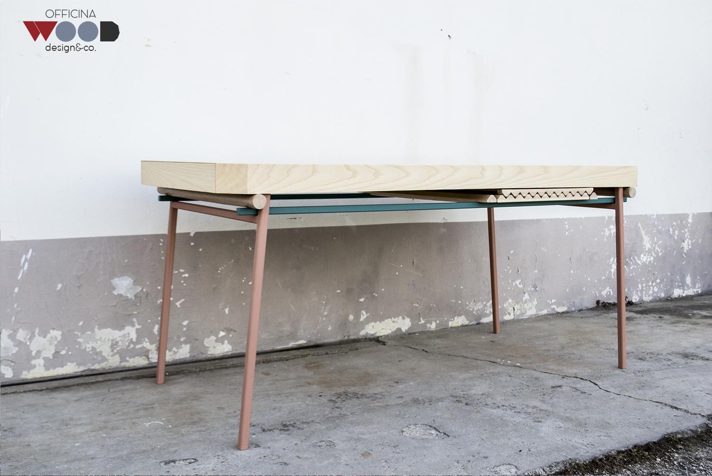 Holzwerkstatt, ausziehbaren Tisch agrestick