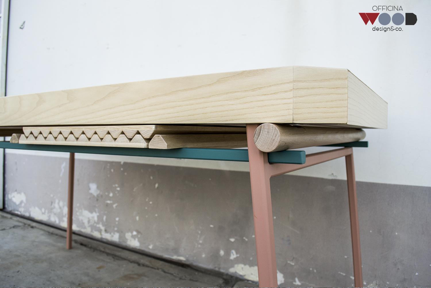 Werkstatt-Holz-Tisch verlängerbaren-agrestick-10