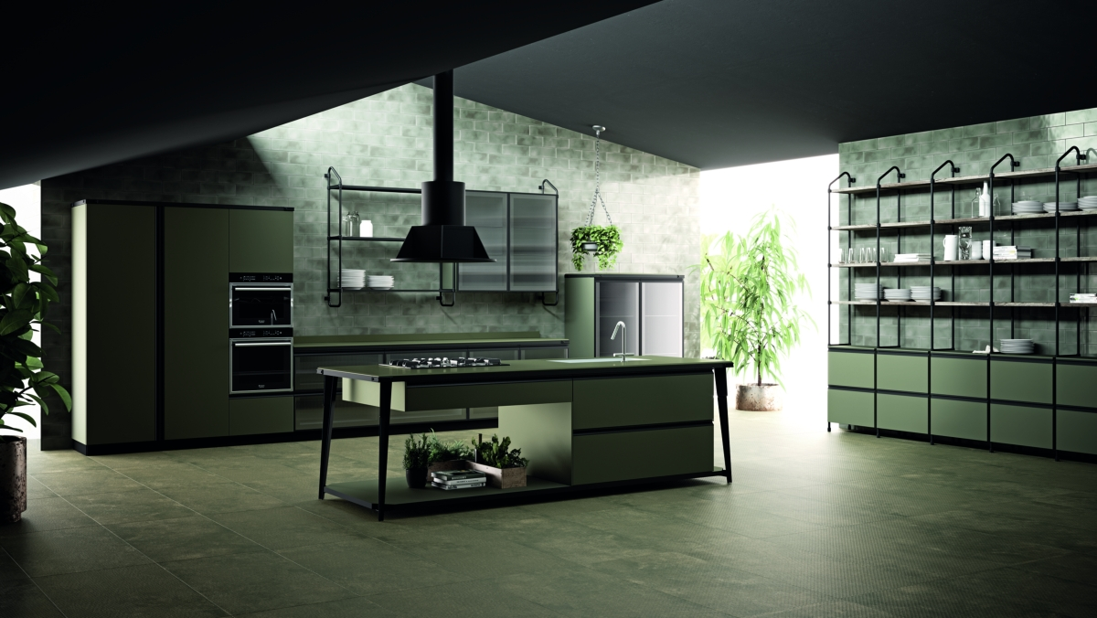 Diesel Workshop Aberto Kitchen