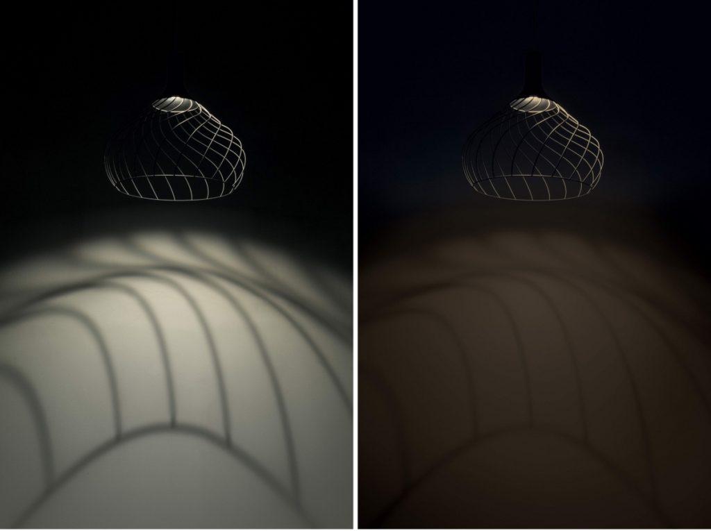 Lampadario a sospensione Mongolfier di Linea Light Group, Warm Tune