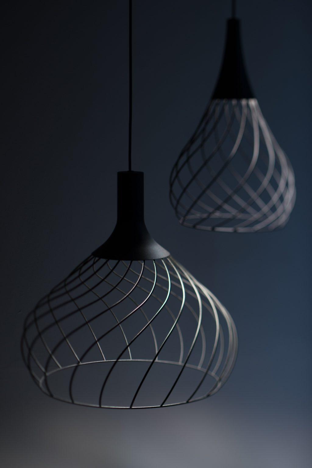 Lustre suspendu Mongolfier Linea Light Group Noir
