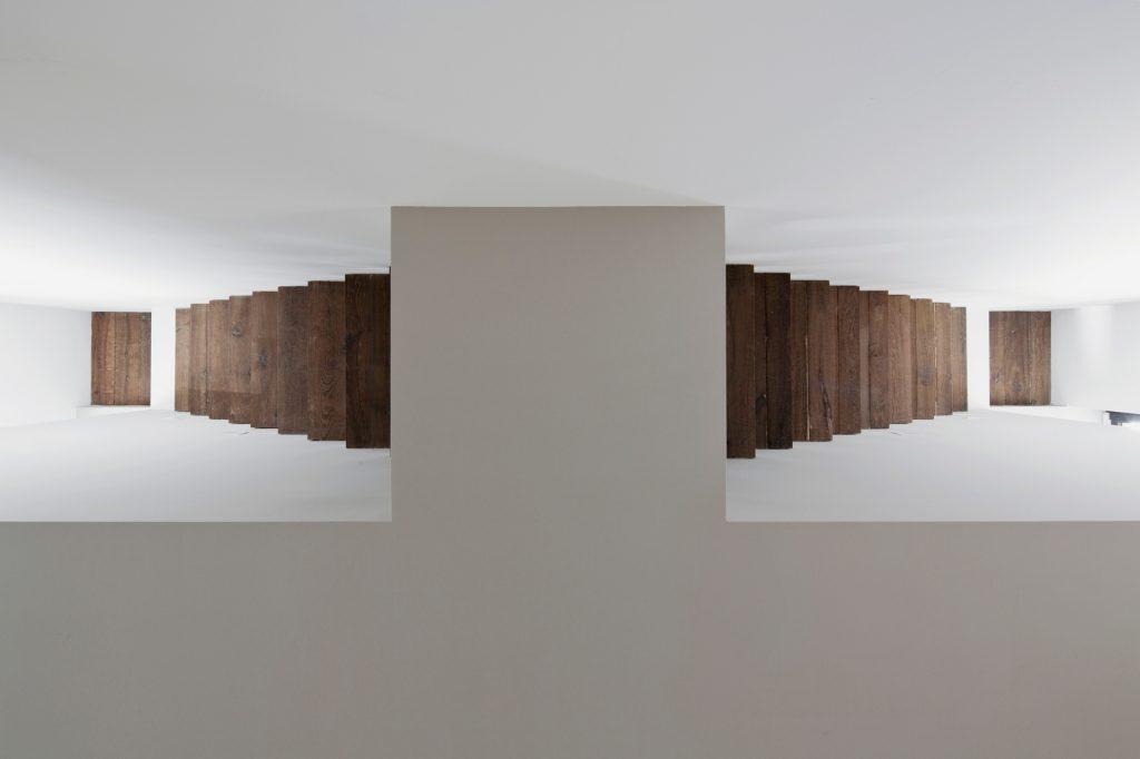 vertikale Loft Westway Achitects, das System Skalen von Eschers unmöglich Konstruktionen inspiriert