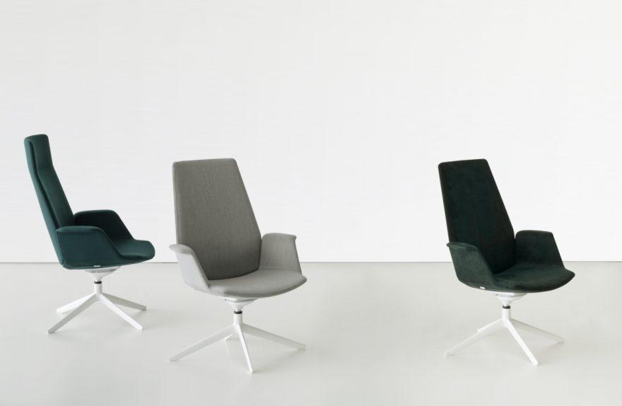 Μια σπονδυλωτή καθίσματα, Francesco Rota για lapalma
