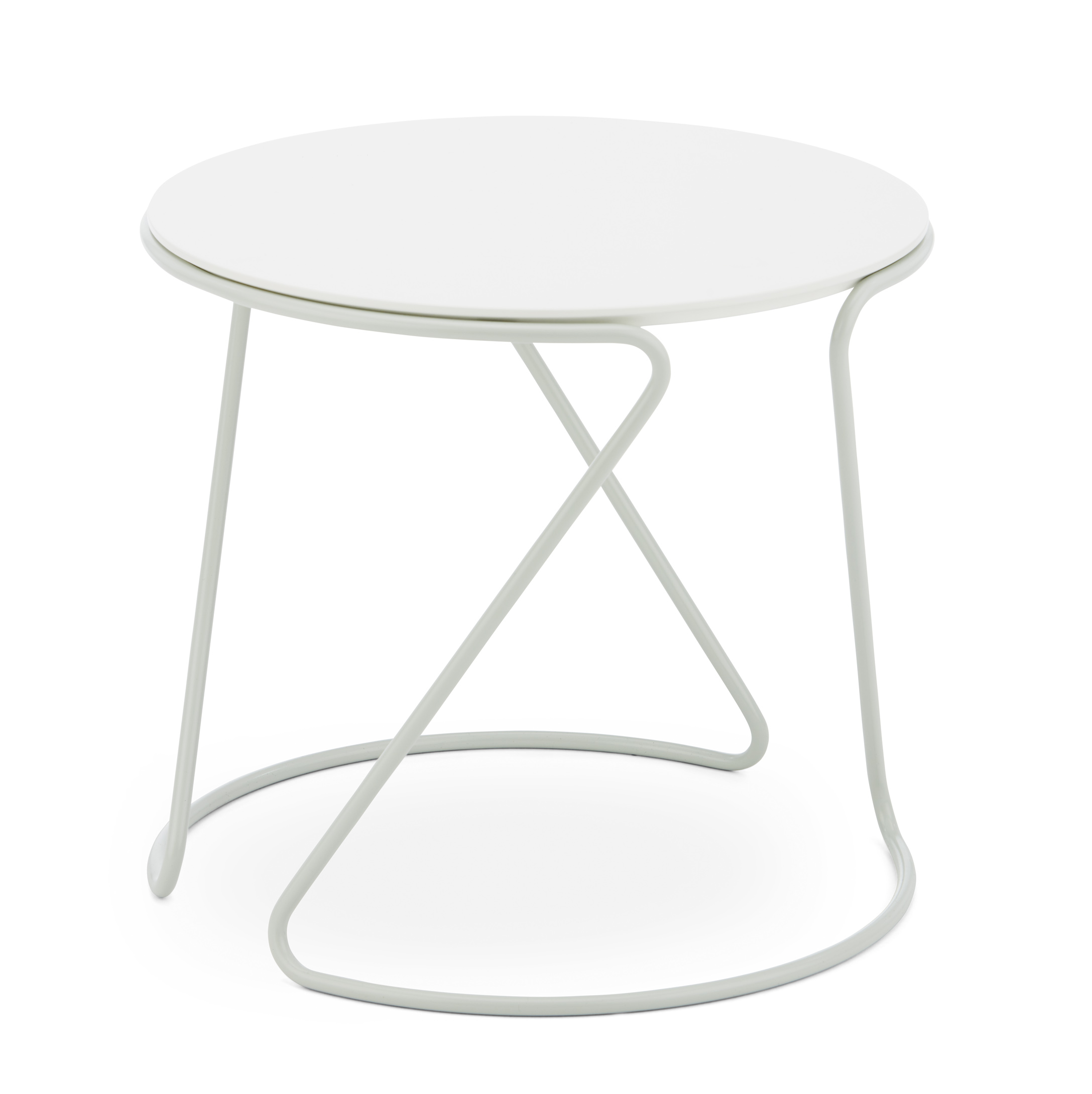 Tischgestell Thonet S 18 Design Uli Budde, Weiss