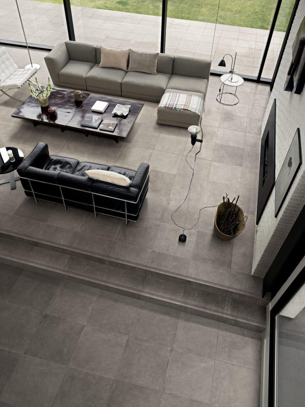 Ceramics concrete effect claymood gray 60x60cm