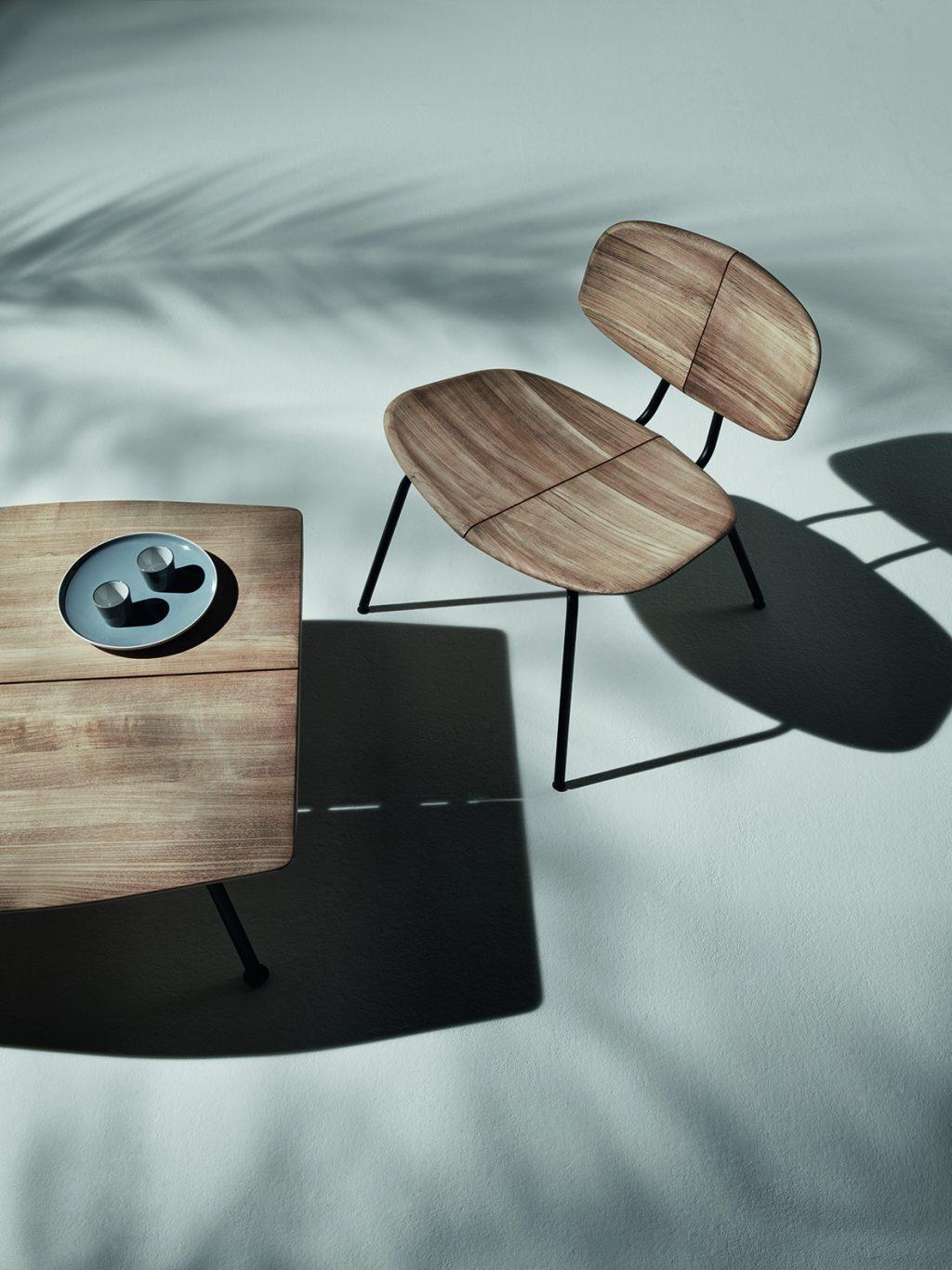 Συλλογή τραπέζια και καρέκλες Agave Ethimo