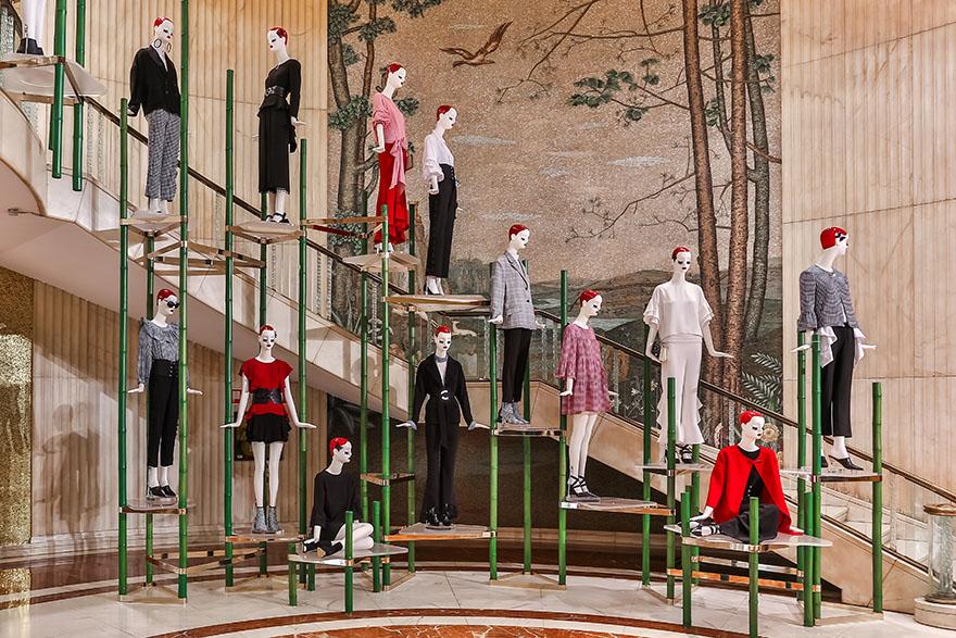 'ARC DE TRIOMPHE' by Matteo Thun for the flagship Zara