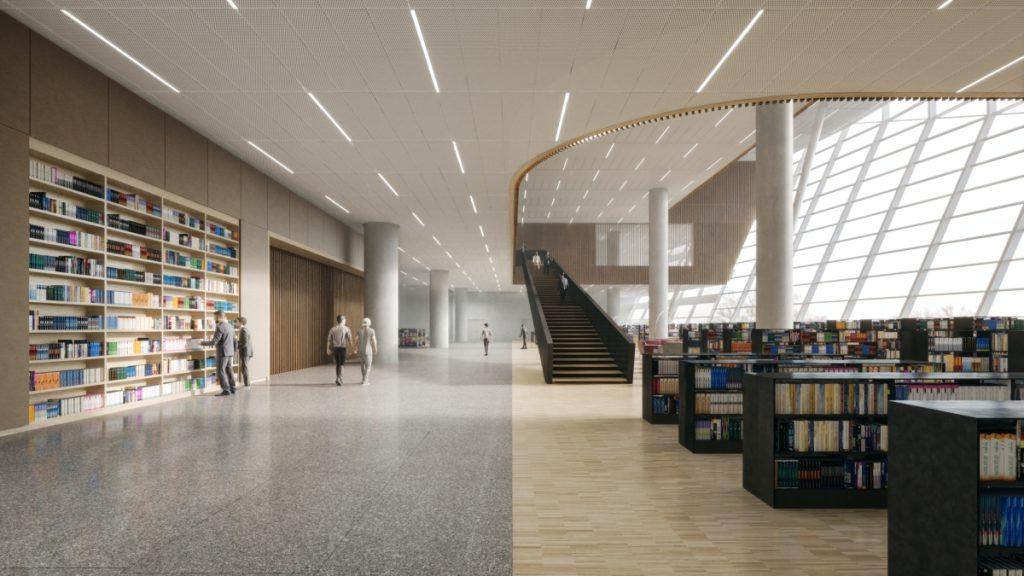 SHL Shanghai East Library Floor3