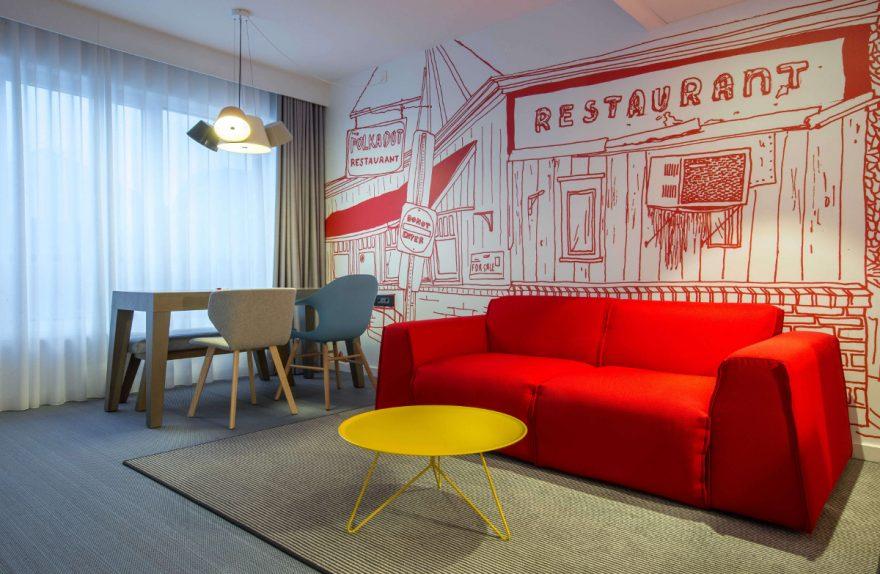 Milano Bedding Radisson Red Bruxelles Suite