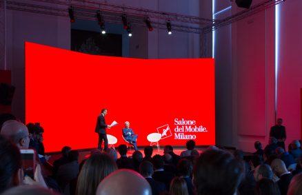 Presentation of the 2019 Salone de Mobile