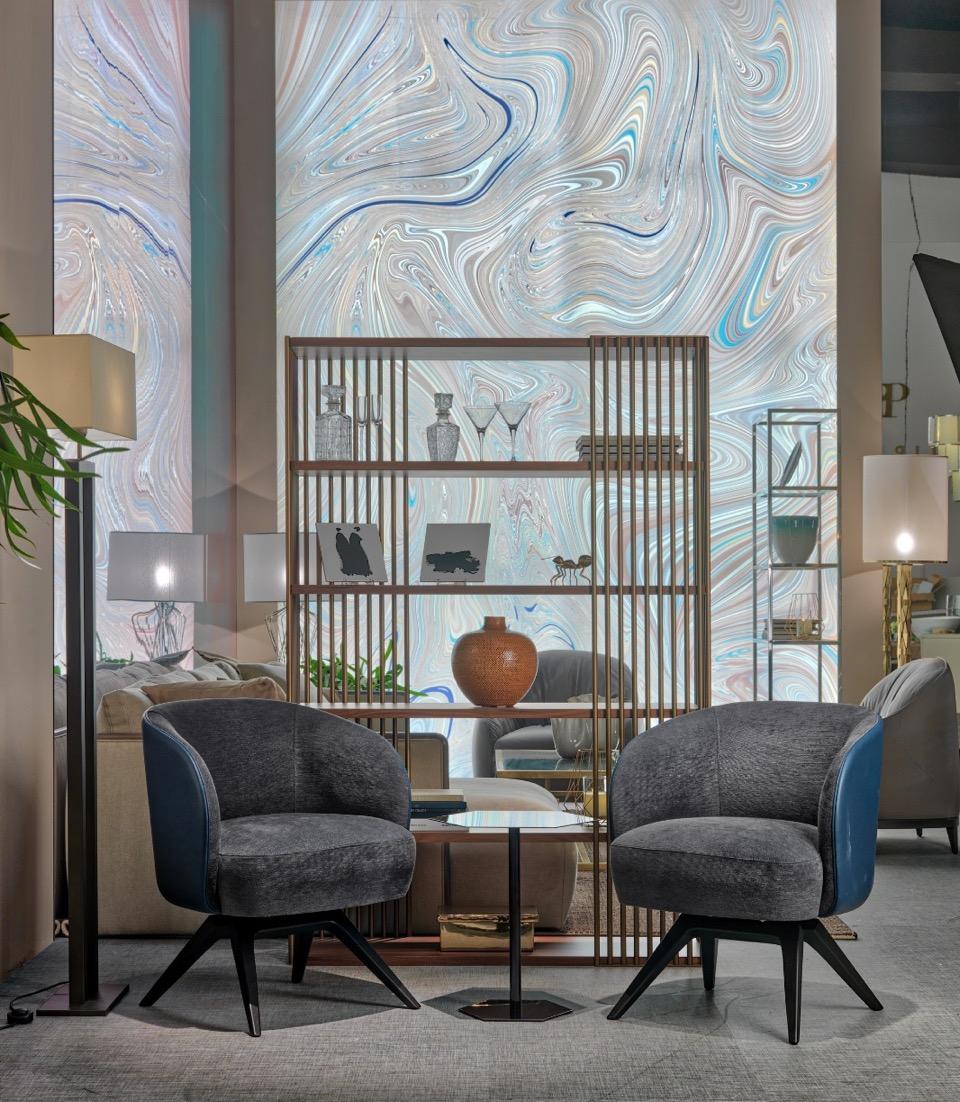 Lucrezia armchair, design Francesco Lucchese