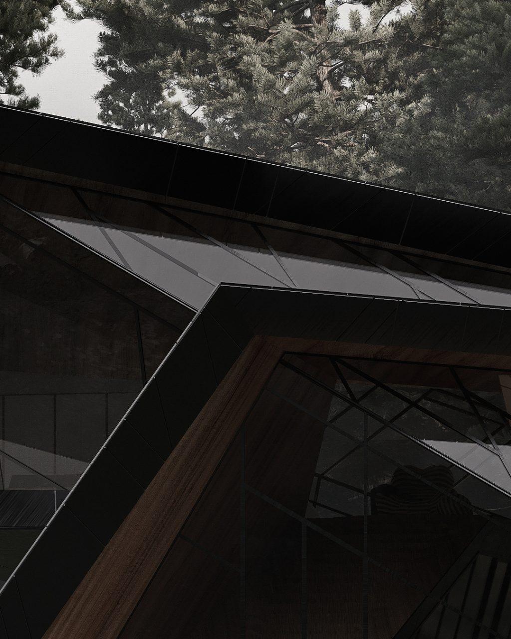 Blackbird una capanna rifugio by Stipfold