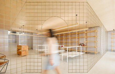 Κατάστημα παιδικών ενδυμάτων Morinha, Oficina de Arquitectura και Design Stu.dere