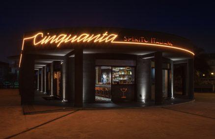 Πενήντα ιταλικά αλκοολούχα κοκτέιλ μπαρ Daniele Della Porta