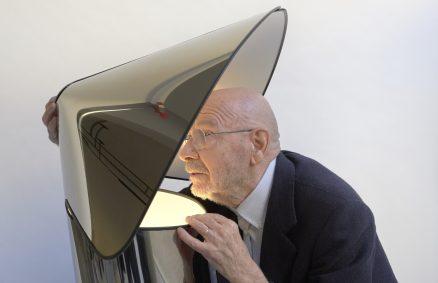 Chiara lamp από τον Mario Bellini για την επανέκδοση του Flos, 2020