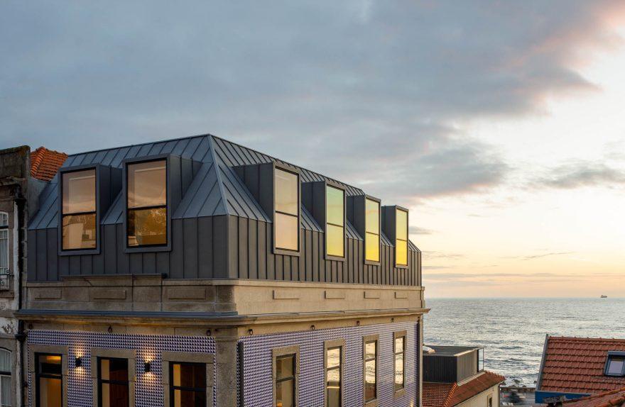 Ristrutturazione di un edificio storico a Foz, Porto - As Arquitectos