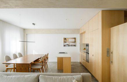 Appartamento ristrutturato durante la pandemia, Paulo Moreira architectures