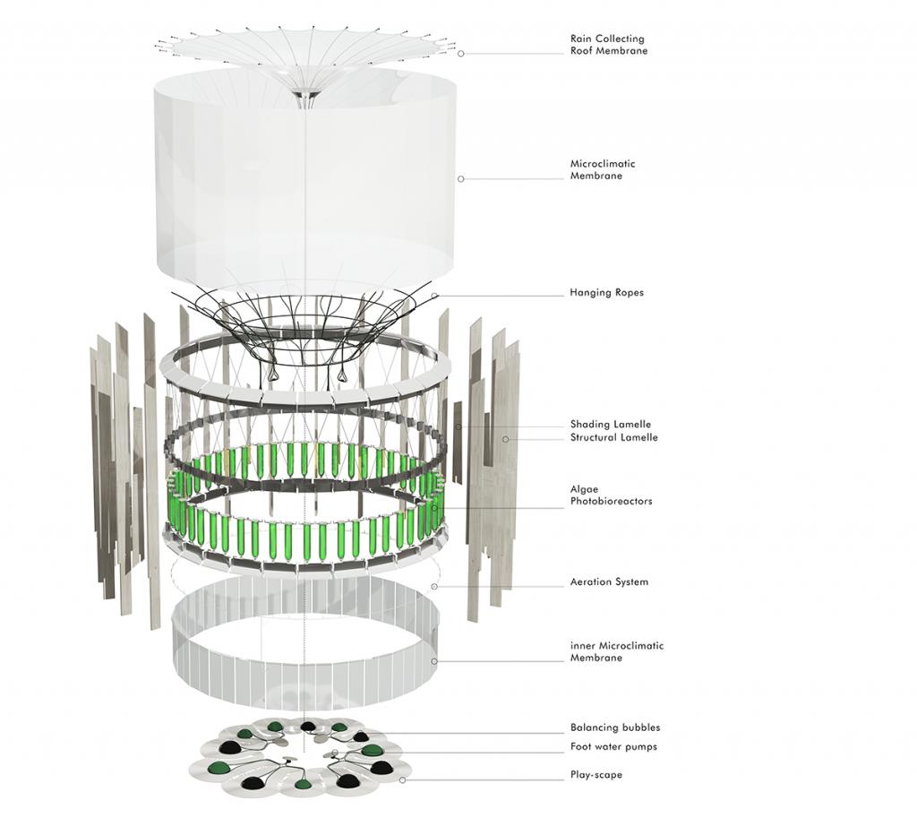 AirBubble playground plan ecoLogicStudio